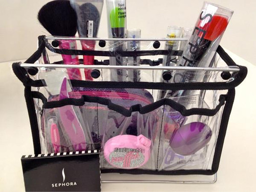 Handy Caddy stores all your hand tools from cosmetics to office supplies