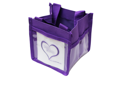 Purple Kiddy Caddy