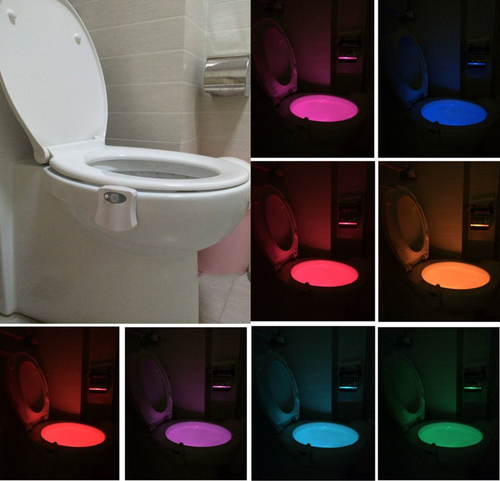 Lights up in multicolors. The boys will love it!
