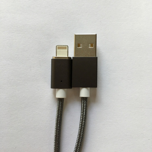 Magnetic USB cable for  iPhone 8 Plus 7 6 5 in Silver - Lightning charger