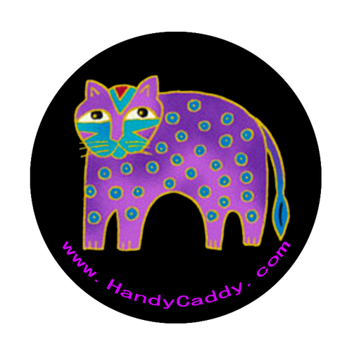 Laurel Burch Like Purple Cat These are the cutest Pop Handles EVER! aka Pop Sockets, Handy Pops come with a Car mount. 3M adhesive for both the Pop and the Car Mount makes it transferable. You can remove slowly and carefully. Then it can be replaced on another device. If it gets dirty, simply rinse it under water, let it dry and re-use.