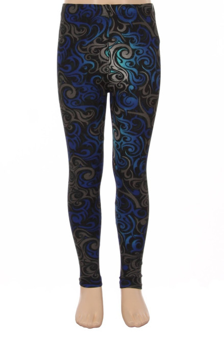S/M or L/XL    Imported  Colorful Student Leggings for Boys and Girls of All Ages  Ultra Buttery Soft Comfy Milk Silk Fabric  92% Polyester 8% Spandex  Hand Wash or Professional Wash  S/M:    Inseam: 18 Inches  Waist Radius: 10 Inches  Waist Circumference: 20 Inches  Hips: 12 Inches    L/XL:    Inseam: 21 Inches  Waist Radius: 11 Inches  Waist Circumference: 22 Inches  Hips: 13 Inches