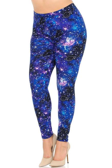 Astrological Blue Galaxy