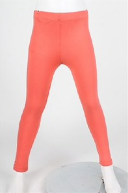 Buttery Soft Solid Kids Basic Leggings - RED Size MEDIUM
