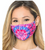 TIE DYE poly/cotton Face Mask with filter pocket (filter not included)