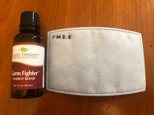 5 PM2.5 FILTERS INFUSED w/ essential oil GERM FIGHTER  $9