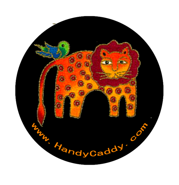 Laurel Burch Like Lion with Birdie on it's back.  These are the cutest Pop Handles EVER! aka Pop Sockets, Handy Pops come with a Car mount. 3M adhesive for both the Pop and the Car Mount makes it transferable. You can remove slowly and carefully. Then it can be replaced on another device. If it gets dirty, simply rinse it under water, let it dry and re-use.