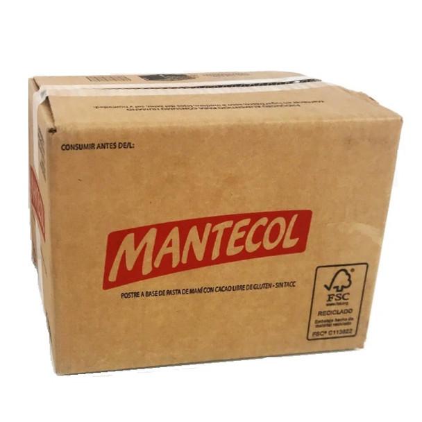 Mantecol Classic Flavor Semi-Soft Peanut Butter Nougat Wholesale Bulk Box, 110 g / 3.88 oz ea (40 count per box)