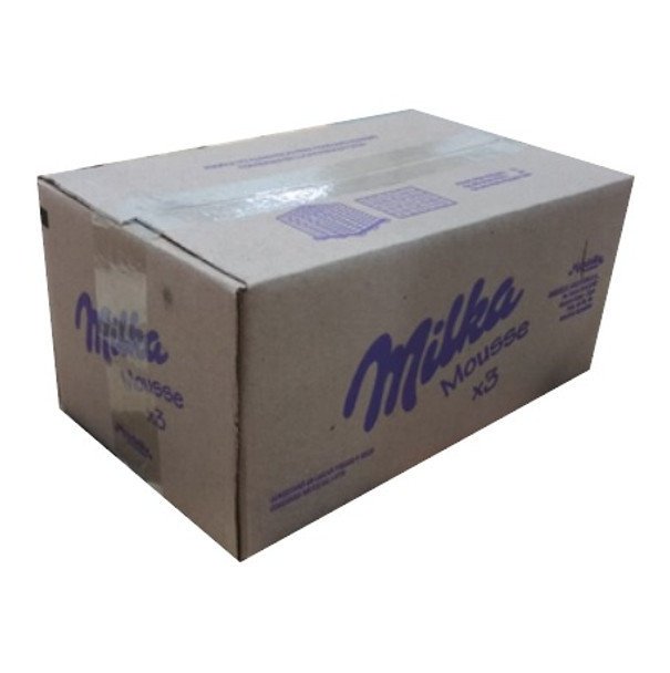 Milka Alfajor Triple Cookie with Chocolate Mousse Wholesale Bulk Box, 55 g / 2 oz ea (36 count per box)