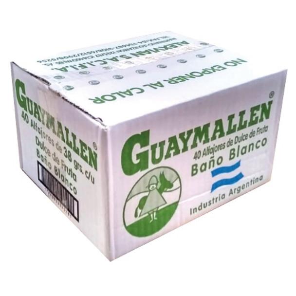 Guaymallen Alfajor White Chocolate with Membrillo Fruta Quince Jelly Complete Wholesale Bulk Box, 38 g / 1.3 oz ea (40 count per box)