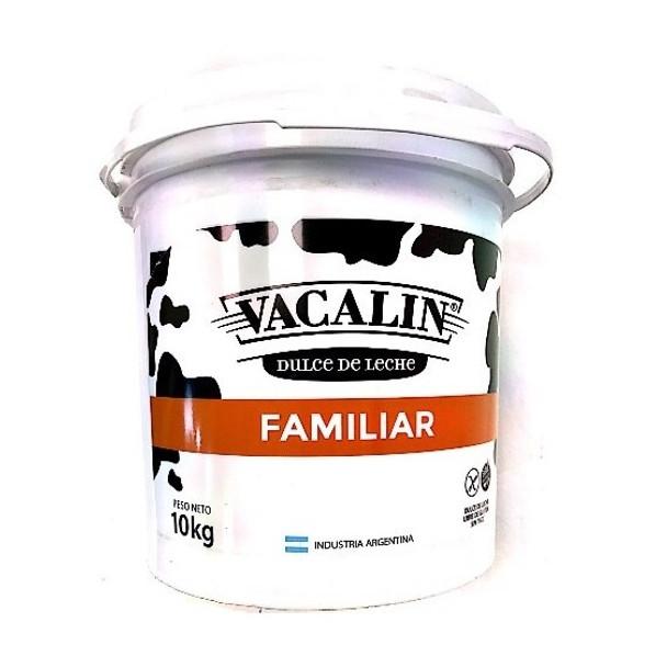 Vacalin Dulce de Leche Classic Creamy Milk Confiture, 10 kg / 22 lb plastic bin (4 plastic bins)