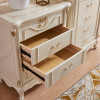 Europe style 4 drawer low chest of draws LOW boy