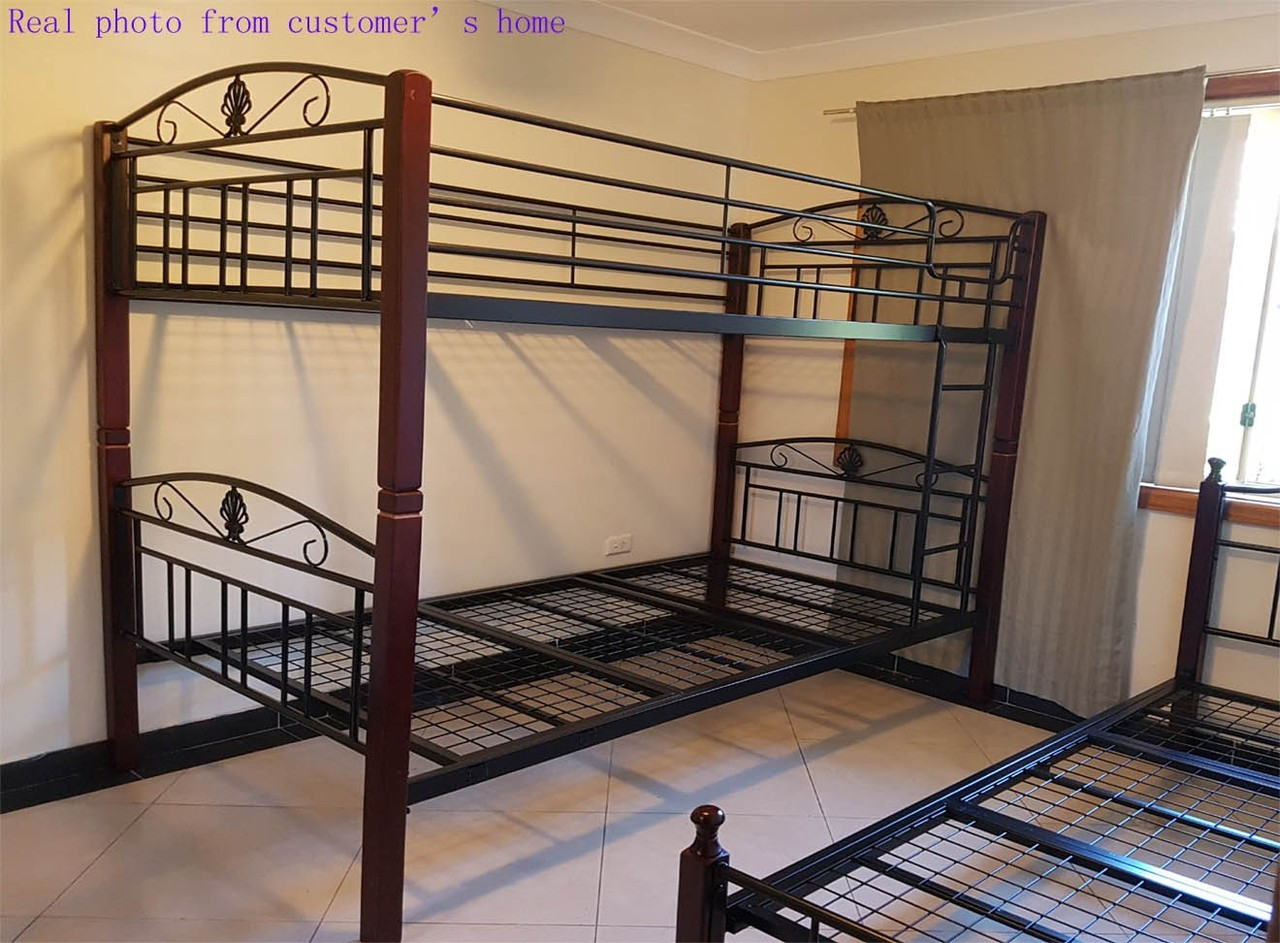 Picture of: Bunk Bed Convert To 2 King Single Frame