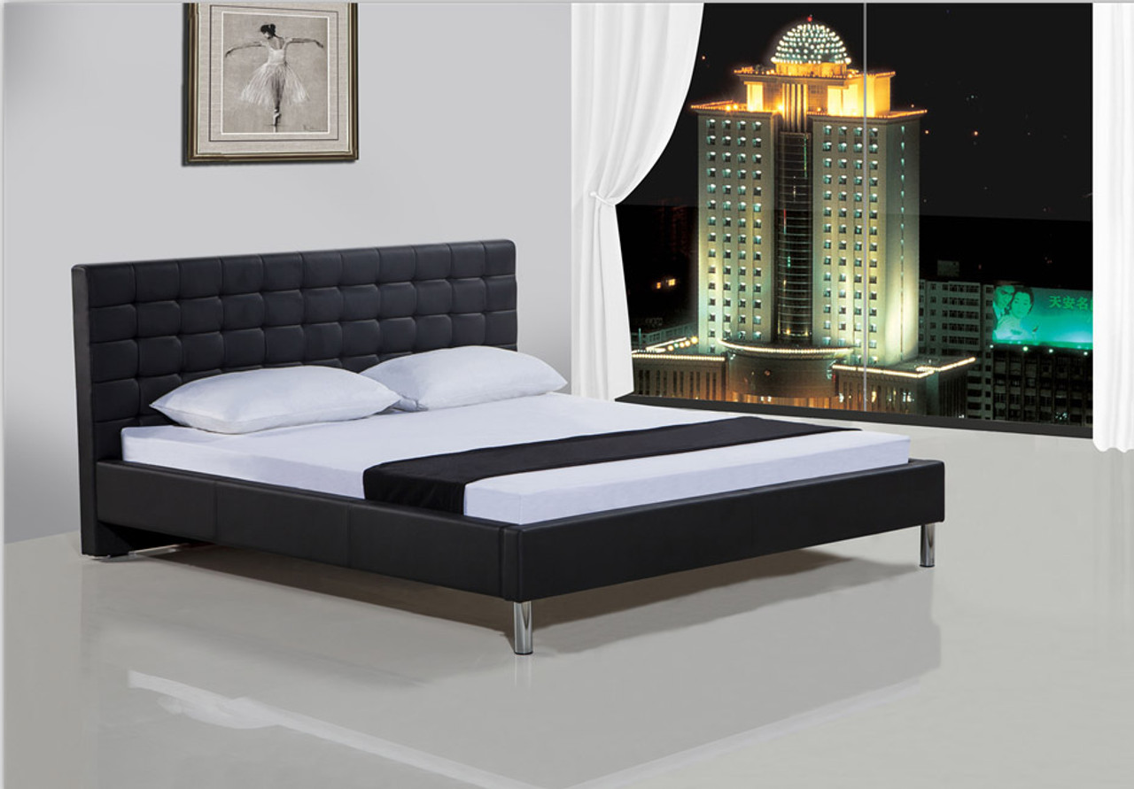 Cheap Pu Leather Bed