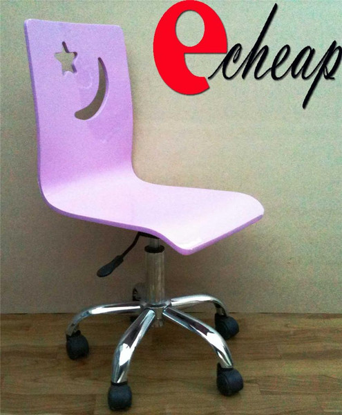 Pink study chair