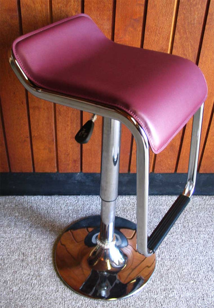 Brown bar stool