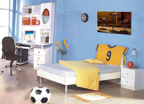 Single boy bed