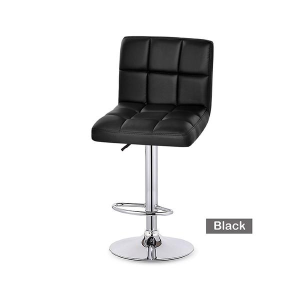 High back bar kitchen stool