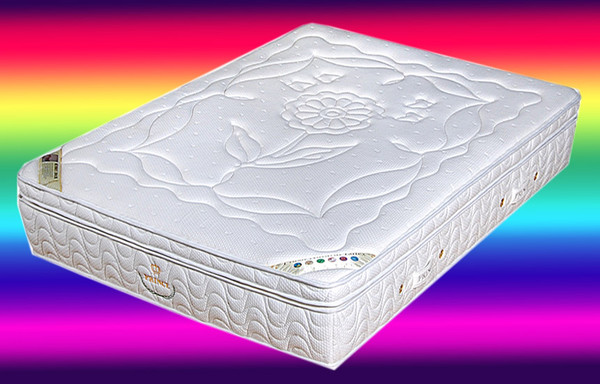 Latex pocket spring memory foam mattress