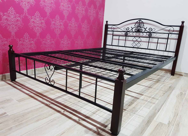 cheap metal bed