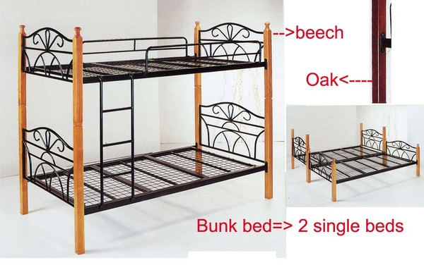 King single bunk beds