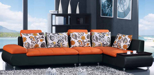 Modern orange Cheap lounge