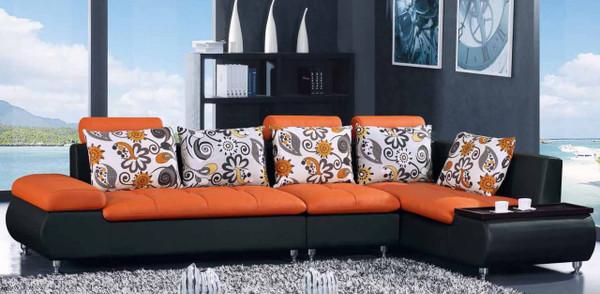 Modern orange Cheap lounge