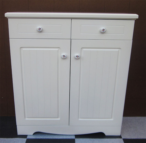 Cream Ivory Classic Shoes cabinet