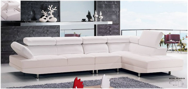 Corner leather lounges