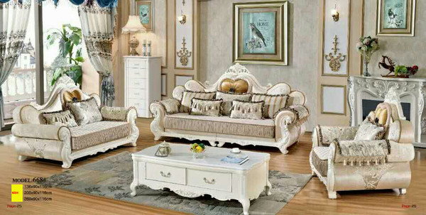 Luxury fabric big size  lounges