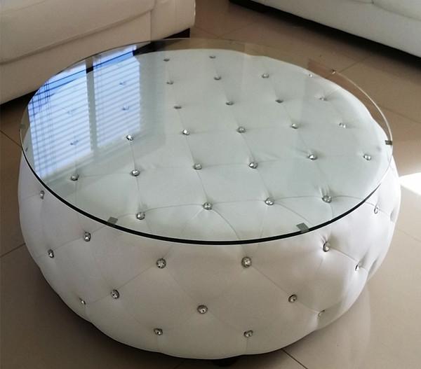 "Round ""diamond"" look coffee table"