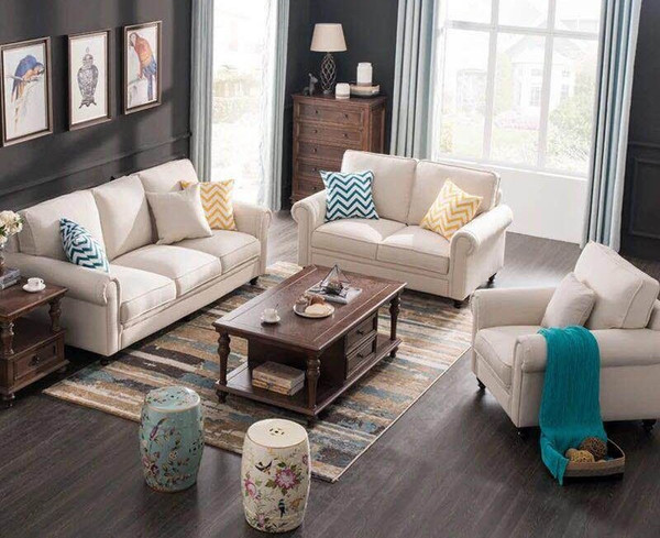 Cheap fabric 3+2+1 sofa