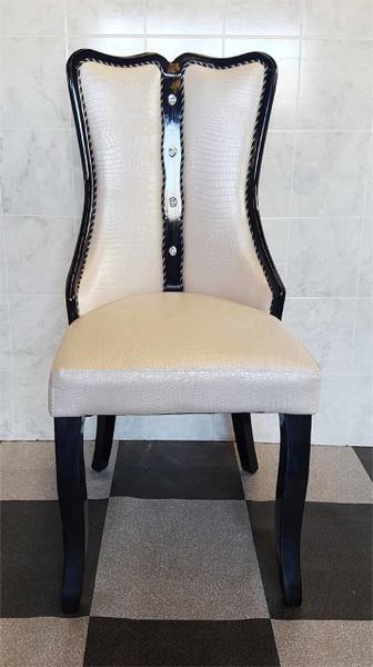 Cream ding chair