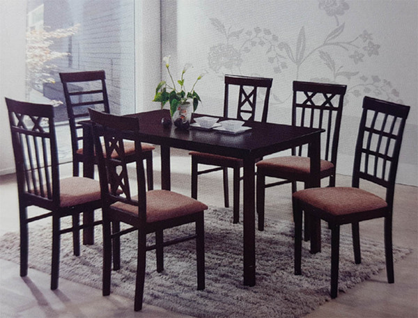 Cheap 7 pieces dining set