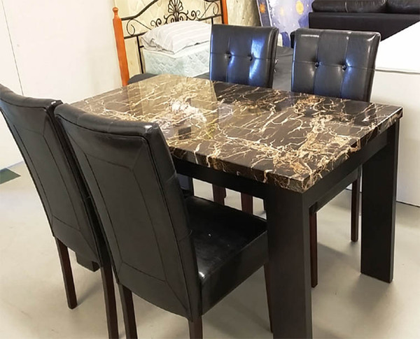 Cheap Marble look dining table