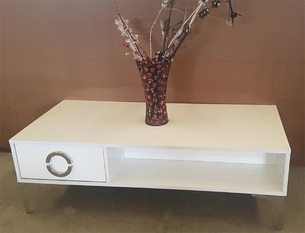 """Paris"" white Coffee Table"