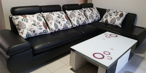 E cheap L shape lounges