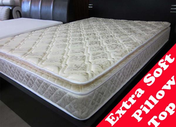 Luxury pillow top cheap queen size mattress