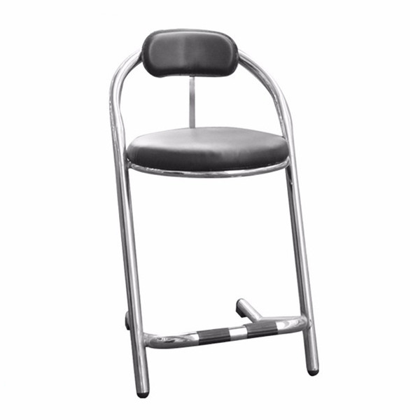 Bar stool steel frame chair