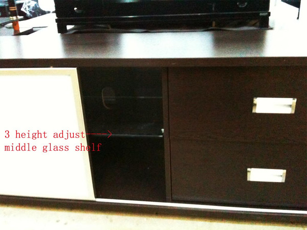 Sliding glass door 1.8M TV unit