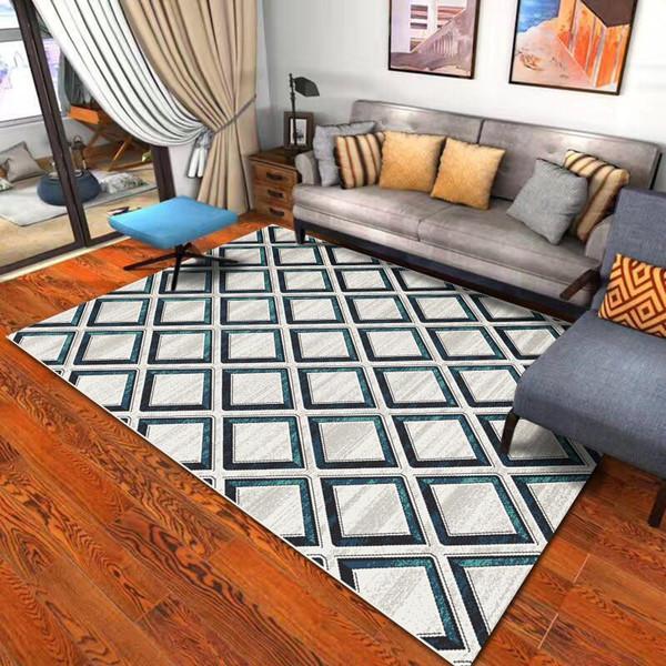 Household  Rectangular Geometric Patterns Rug