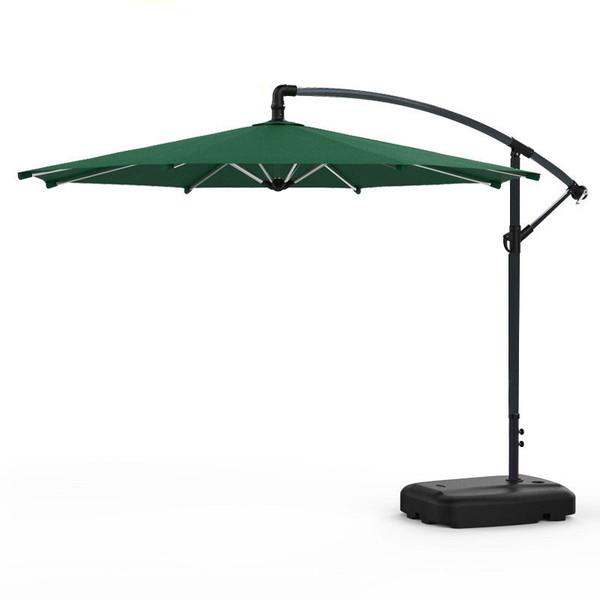 Green Outdoor Garden Hanging Parasol Sunshade