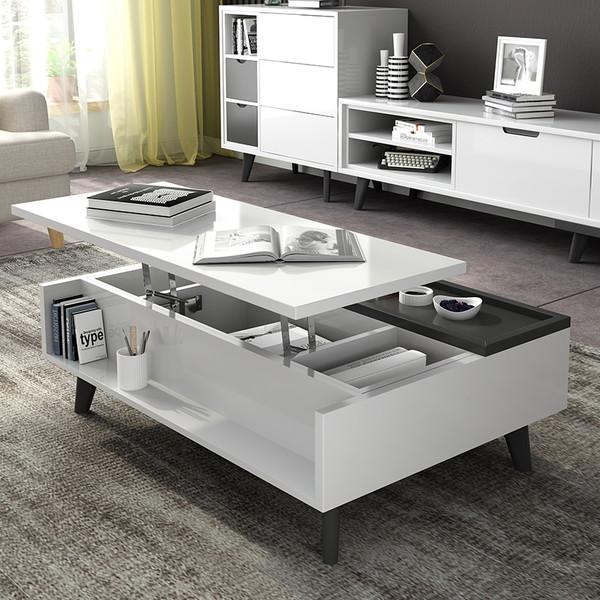 Lift top multi-function Coffee tea table 1.2M