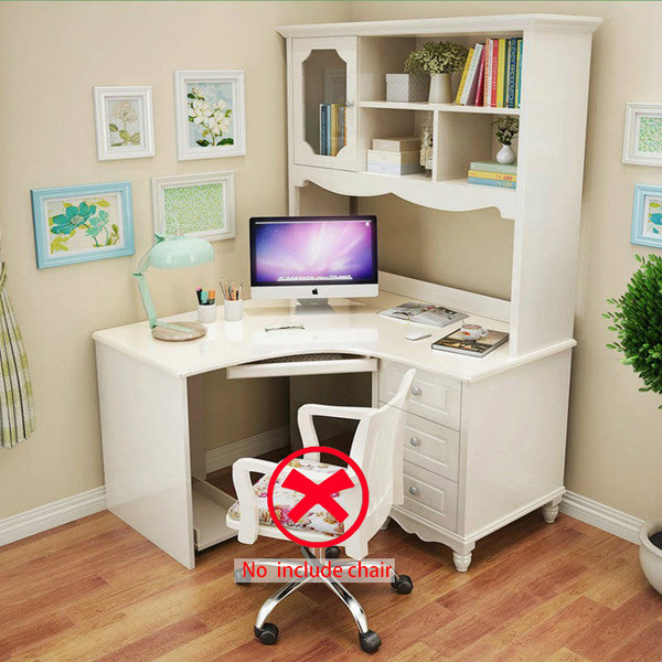 Timber Corner Computer desk+hutch 1.2M