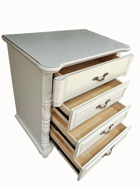 American style 4 drawer high chest