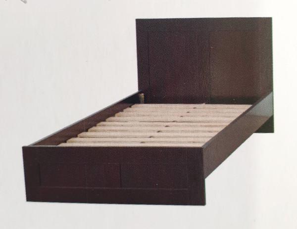 E cheap queen timber bed