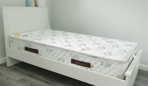 Cue queen,double single walnut or white bed