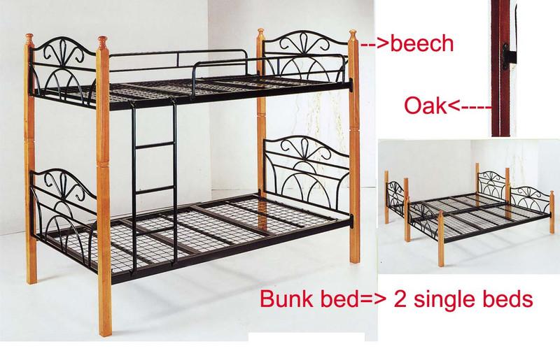 King single bunk beds