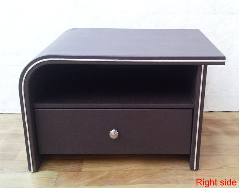 Brown bedside table Right