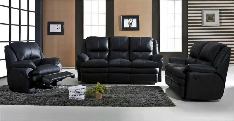 BROWN  lounges 3+2+1 seats with 5 recliners